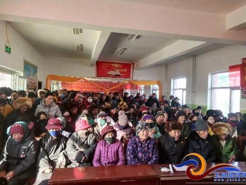 治多加吉博洛镇召开森林防灾防火暨安全生产知识宣讲大会
